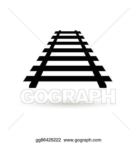 vector art rails black illustration clipart drawing gg86426222