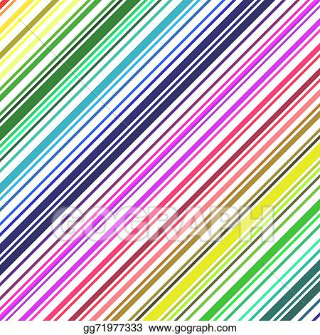 Barcode rainbow. Vector stock colored background