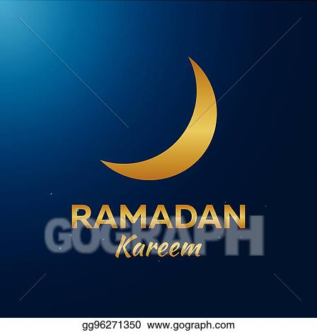 Eps illustration ramadan kareem ramadan mubarak greeting card ramadan mubarak greeting card arabian night with crescent moon m4hsunfo