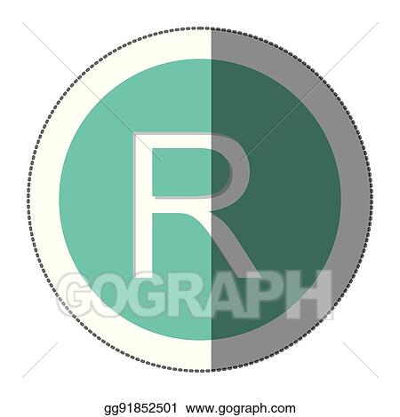 Vector Stock Rand Currency Symbol Icon Stock Clip Art Gg91852501