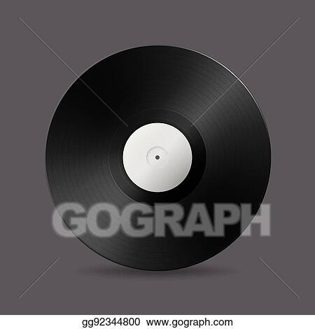 Eps vector realistic vector music gramophone vinyl lp record icon realistic vector music gramophone vinyl lp record icon design template of retro long play maxwellsz