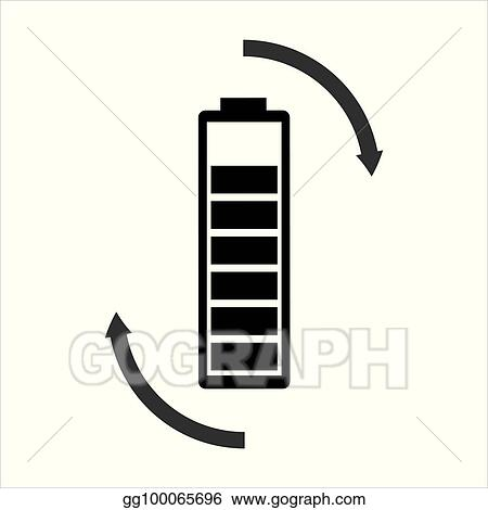 vector stock rechargeable battery vector stock clip art gg100065696 gograph rechargeable battery vector stock clip