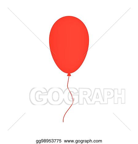 eps vector red balloon stock clipart illustration gg98953775