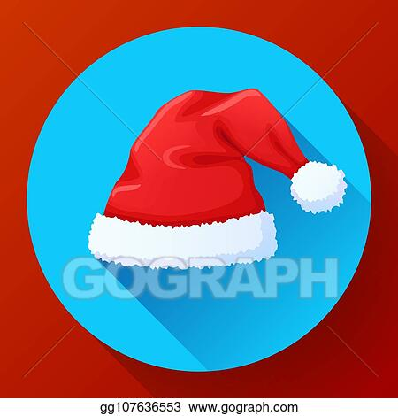 red santa claus hat new year cap