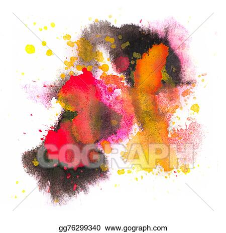 Yellow Paint Clipart Black And White