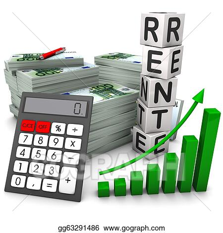 Stock Illustration Rente Absicherung Clipart Gg63291486 Gograph