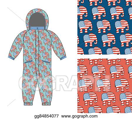 Clip Art Vector Republican Baby Childrens Clothing Republican