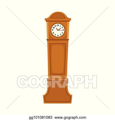 Grandfather Clock Clip Art Royalty Free Gograph