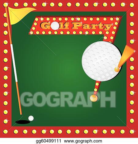 Eps vector retro miniature golf invitation stock clipart retro miniature golf invitation stopboris Choice Image