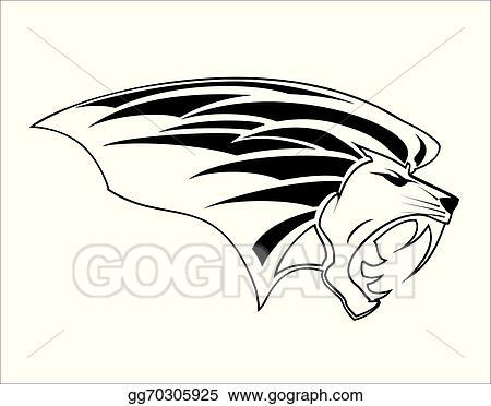 Vector Art Roaring Lion Head Clipart Drawing Gg70305925 Gograph You can edit any of drawings via our online image editor before downloading. roaring lion head clipart drawing