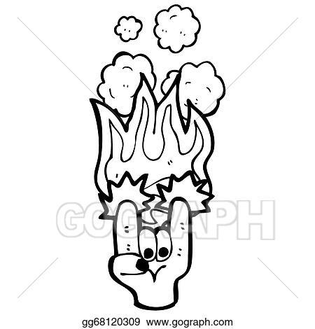 Stock Illustrations Rock Devil Horns Hand Symbol Stock Clipart