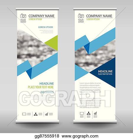 vector art - roll up business brochure flyer banner design vertical, Presentation Abstract Template, Presentation templates