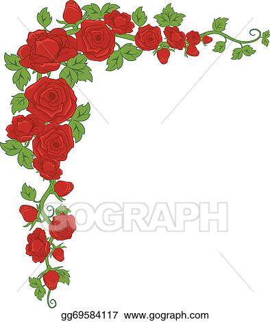 rose border clip art royalty free gograph rh gograph com yellow rose border clip art free rose flower border clip art