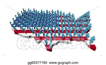 Us Map Flag Clipart Usa Map Flag On A White Background Usa Map - Us map clipart