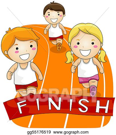 drawing running race clipart drawing gg55176519 gograph rh gograph com race clip art free racing clip art