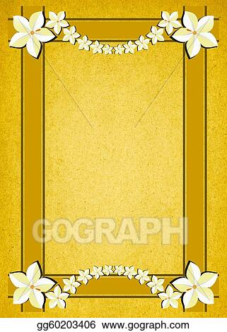 Rustic Gold Parchment Background