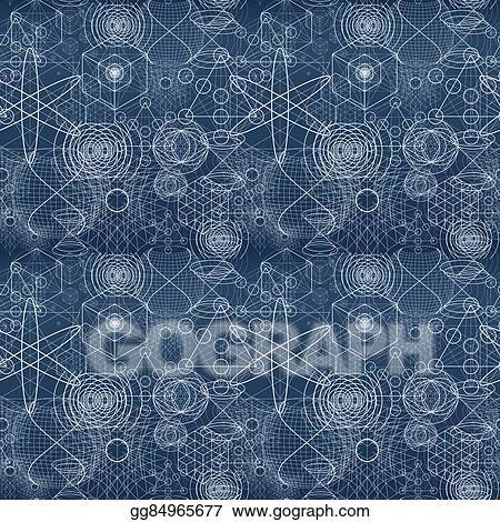 Clip Art - Sacred geometry symbols and elements wallpaper