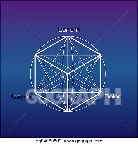 Vector Stock - Sacred geometry symbols and elements  Stock
