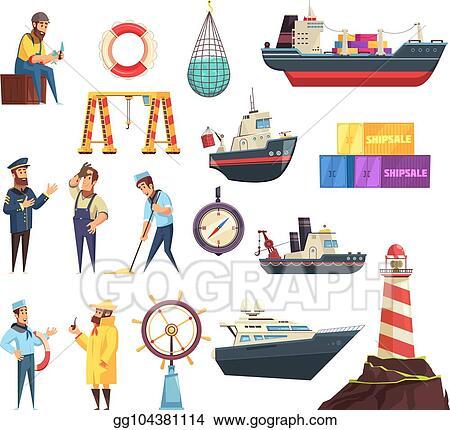 Sailor Clipart Seaman - Trabalhador Desenho - Free Transparent PNG Clipart  Images Download