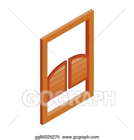 Clip of door swinging