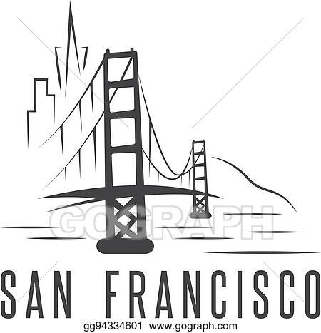 San Francisco Bridge Clip Art