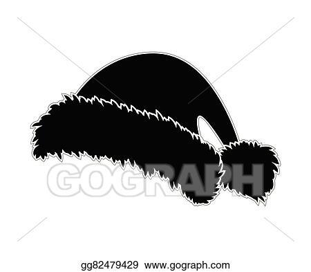 035fab3286cd4 Vector Clipart - Santa hat