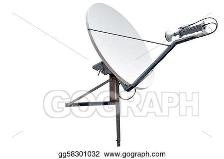stock illustration satellite dish antenna clip art gg58301032 Satellite Dish Antenna Logo satellite dish antenna