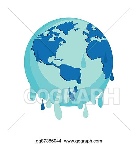 Vector Art Save Planet Earth Ecology Icon Vector Graphic Eps