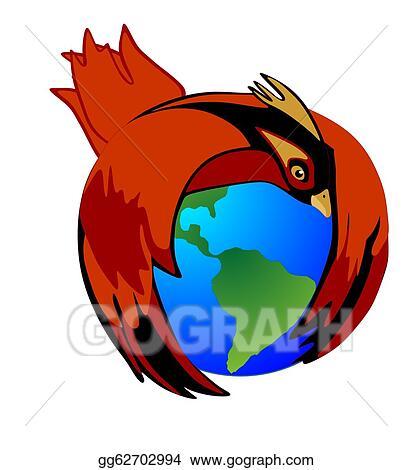 Vector Art Saving Mother Earth Clipart Drawing Gg62702994 Gograph