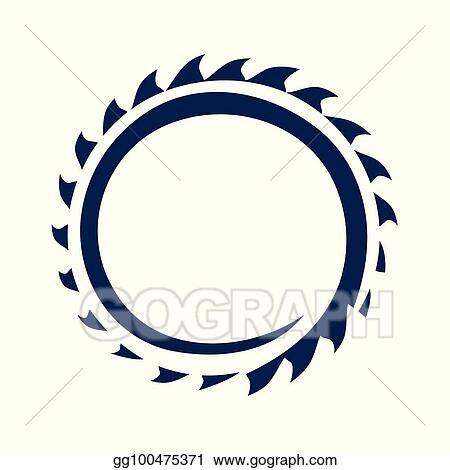vector stock saw blade stock clip art gg100475371 gograph rh gograph com circular saw blade clipart saw blade clip art black and white