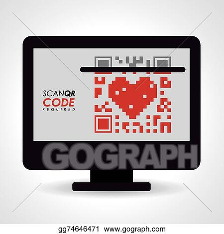 Vector Stock - Scan qr code design  Stock Clip Art