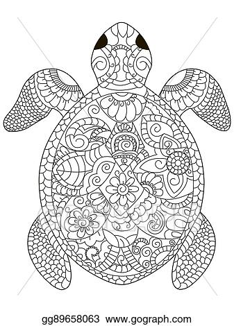 Zoo Keeper Coloring Page in 2020 | Turtle coloring pages, Animal ... | 470x337