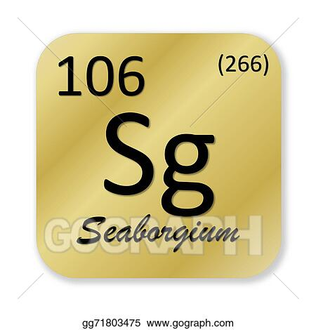 Drawing Seaborgium Element Clipart Drawing Gg71803475 Gograph