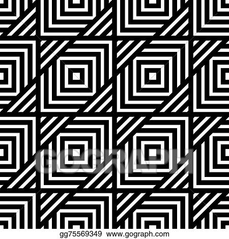 Vector Art Seamless Black And White Geometric Pattern Simple Vector Stripe Eps Clipart Gg75569349 Gograph,Pid Controller Design Tuning Parameters And Simulation For 4th Order Plant