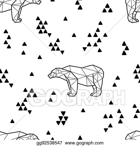 Thumb Image - Polar Bear Clipart Black And White, HD Png Download - vhv
