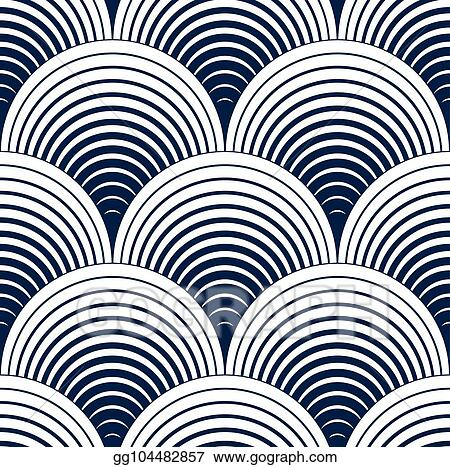 Vector Art Seamless Geometric Pattern Geometric Simple