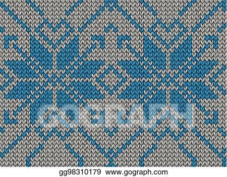 ede0707bbddb EPS Vector - Seamless knitting pattern christmas sweater design. eps ...