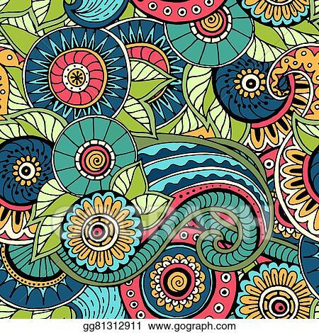 Vector Illustration - Seamless pattern