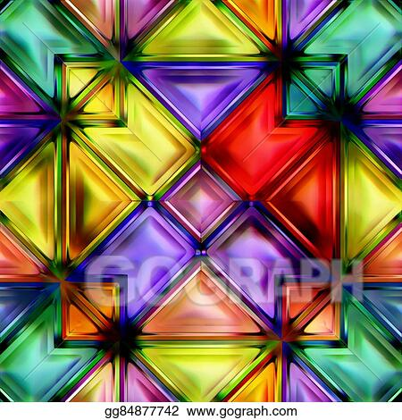 Drawings Seamless Texture Of Abstract Bright Shiny