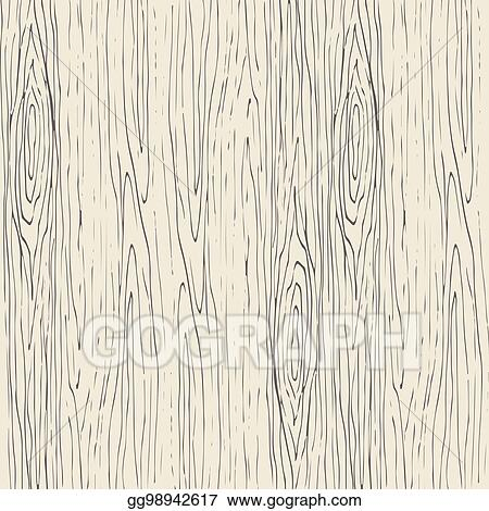 Clip Art Vector Seamless Wood Grain Pattern Wooden Texture Vector