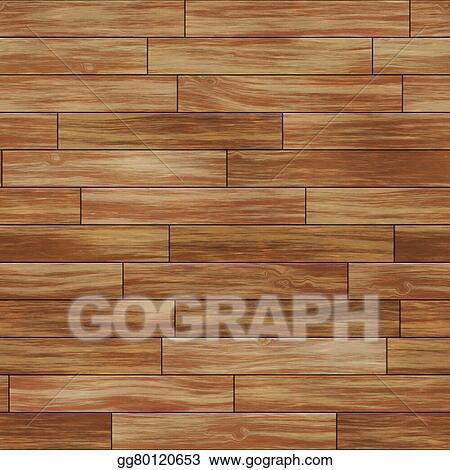 Seamless Wood Texture Dark Brown