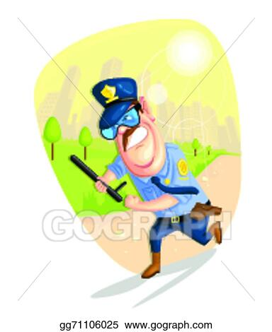 vector stock security guard clipart illustration gg71106025 gograph