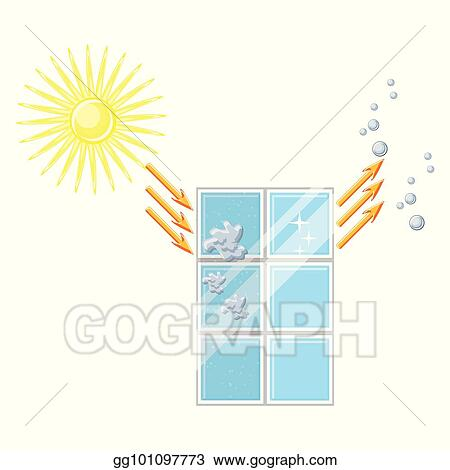 self cleaning window diagram glass is cleaned after sun exposure and rain_gg101097773 vector stock self cleaning window diagram glass is cleaned after