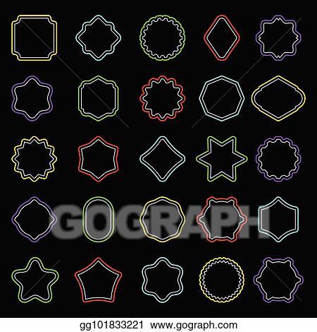 Badge clipart shape