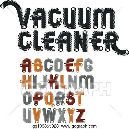 Vector Stock - Set of cool vector upper case english