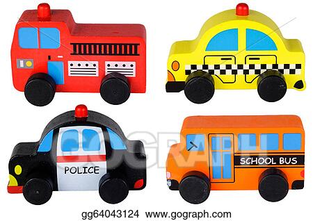drawing set of four wooden toy cars clipart drawing gg64043124 rh gograph com toy car clipart free toy car clipart black and white