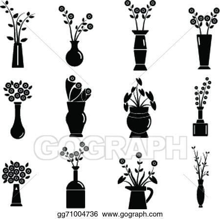 Vector Art Set Of Vase Vector Illustration Eps Clipart Gg71004736