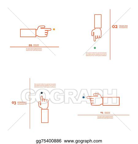 Sensational Clip Art Vector Set Of Vector Hand With Index Finger Stock Eps Wiring 101 Eattedownsetwise Assnl