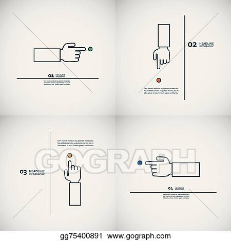 Admirable Clip Art Vector Set Of Vector Hand With Index Finger Stock Eps Wiring 101 Eattedownsetwise Assnl