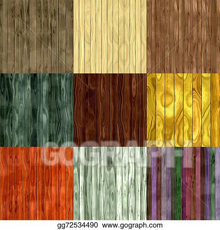 wood fence texture seamless. Set Of Wood Fence Seamless Generated Textures Texture I
